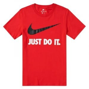 Nike Just Do It Swoosh Tee (red)