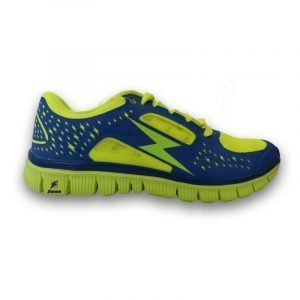 Scarpa Hermes Running (electric royal/giallo fluo)